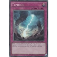 Yugioh Typhoon - OP01-EN013 - Super Rare NM