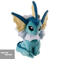 "Tomy Pokemon Eeveelution Vaporeon 8"" Stuffed Plush"