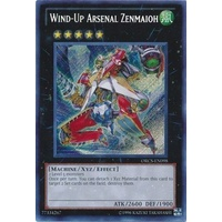 Yugioh Wind-Up Arsenal Zenmaioh - ORCS-EN098 - Secret Rare Unlimited