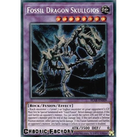 BLAR-EN009 Fossil Dragon Skullgios Secret Rare 1st Edition NM