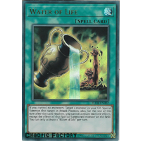 Yugioh BLHR-EN002 Water of Life Ultra Rare 1st Edition NM