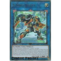 BLVO-EN048 S-Force Justify Ultra Rare 1st Edition NM