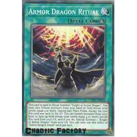 BLVO-EN064 Armor Dragon Ritual Common 1st Edition NM
