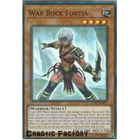 BLVO-EN093 War Rock Fortia Super Rare 1st Edition NM