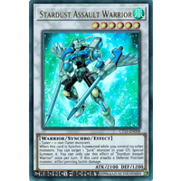 Yugioh Stardust Assault Warrior CT15-EN008 Ultra Rare Promo NM