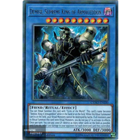 Yugioh - CYHO-EN030 - Demise, Supreme King of Armageddon Rare 1st Edition NM