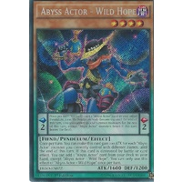 Yugioh DESO-EN022 Abyss Actor - Wild Hope Secret Rare 1st Edition NM