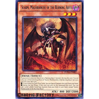 Yugioh Scarm, Malebranche of the Burning Abyss Rare DUEA-EN082 1st Edition NM