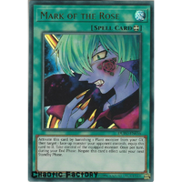Yugioh DUPO-EN056 Mark of the Rose Ultra Rare 1st Edtion NM
