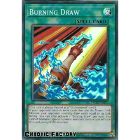 ETCO-EN057 Burning Draw Super Rare 1st Edition NM