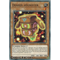 IGAS-EN006 Doshin @Ignister Common 1st Edition NM