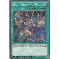 Dark Burning Magic - LDK2-ENS05 - Secret Rare Limited Edition 1st Edition NM