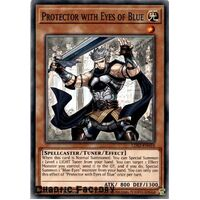 LDS2-EN010 Protector with Eyes of Blue Common 1st Edition NM