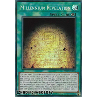 LED7-EN006 Millennium Revelation Super Rare 1st Edition NM