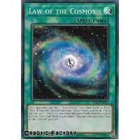 LED7-EN035 Law of the Cosmos Super Rare 1st Edition NM