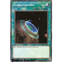 Yugioh LEHD-ENA25 Terraforming Common 1st Edition NM
