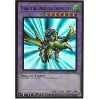 MAGO-EN025 Gaia the Dragon Champion Premium Gold Rare 1st Edition NM