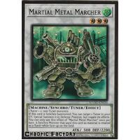 MAGO-EN030 Martial Metal Marcher Premium Gold Rare 1st Edition NM