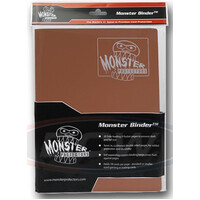Monster Binder - Matte Brown 9 Pocket Album
