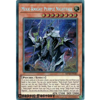 Yugioh MP18-EN183 Mekk-Knight Purple Nightfall Secret Rare 1st Edition NM