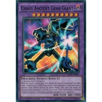 Yugioh Chaos Ancient Gear Giant RATE-EN041 Super Rare 1st Edition NM