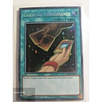 Yugioh LCKC-EN092 Cards of Consonance Secret Rare 1st Edition NM