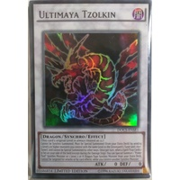 Yugioh DOCS-ENSE1 Ultimaya Tzolkin Super rare Mint Promo Limited Edition