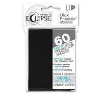 Ultra pro Eclipse Sleeves Black 60ct. Small Fits Vanguard & Yugioh