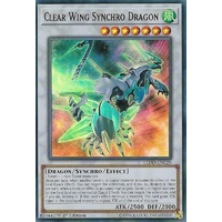 Yugioh LEDD-ENC29 Clear Wing Synchro Dragon Ultra Rare 1st Edition