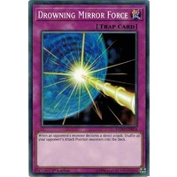 Yugioh LEDD-ENB24 Drowning Mirror Force Common 1st Edition