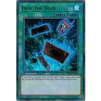 YUGIOH Into the Void Ultra Rare BLLR-EN074 MINT 1st edition