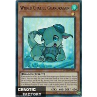 Yugioh  COTD-EN021 World Chalice Guardragon Ultra Rare UNLIMITED Edition MINT