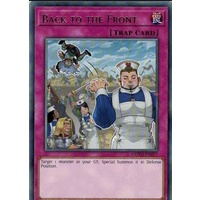 Yugioh COTD-EN077 Back to the Front Rare