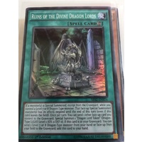 Yugioh Ruins of the Divine Dragon Lords Super Rare 1st Edition SR02-EN024 NM