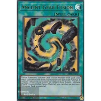 Yugioh LED2-EN032 Ancient Gear Fusion Ultra rare 1st Edition NM