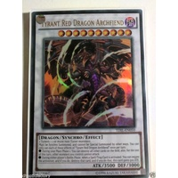Tyrant Red Dragon Archfiend - TDIL-EN050 - Ultra Rare 1st Edition NM
