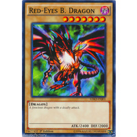 Yugioh Red-Eyes B. Dragon - LDK2-ENJ01 - Common - 1st Edition