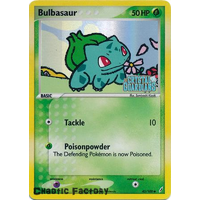 POKEMON Bulbasaur - 45/100 -  Reverse Foil Ex Crystal Guardians