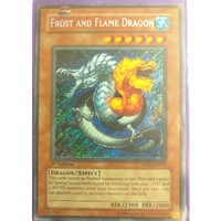 Yugioh Frost and Flame Dragon - TAEV-EN033 - Secret Rare 1st Edition