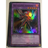 Yugioh PEVO-EN055 Metalfoes Adamante Super Rare 1st Edition MINT
