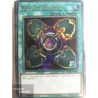 Yugioh LCKC-EN033 Ring of Defense x3 Ultra Rare 1st Edition
