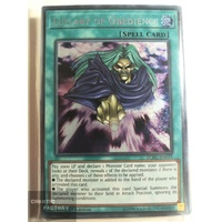 Yugioh LCKC-EN042 Lullaby of Obedience Secret Rare 1st Edition