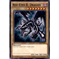 YUGIOH Red-Eyes B. Dragon MIL1-EN027 Common Rare *Joey Wheeler*