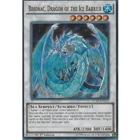Brionac  Dragon of the Ice Barrier DUSA-EN073 Ultra Rare 1st edition
