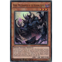 Yugioh Rubic, Malebranche of the Burning Abyss Ultra rare NECH-EN082 1st Edition NM