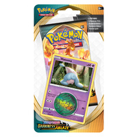 POKEMON TCG Sword and Shield- Darkness Ablaze Checklane Blister ft Hatenna