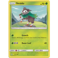 Pokemon TCG Skiddo - 9/131 - Common