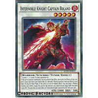 ROTD-EN041 Infernoble Knight Captain Roland Common 1st Edition NM