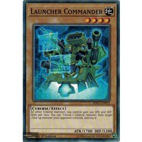Yugioh SDCL-EN012 Launcher Commander Common 1st Edition