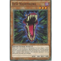 Yugioh SDPD-EN009 D/D Nighthowl Common 1st Edition NM